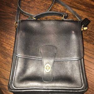 Classic coach leather purse
